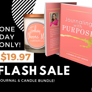 Journal and Candle Bundle